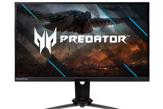Acer Predator XB273UNX: флагманский игровой монитор с частотой развертки до 275 Гц, USB-хабом и металлической подставкой