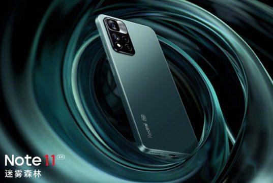 Xiaomi раскрыла дизайн смартфона Redmi Note 11 динамиками JBL