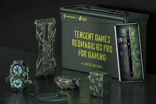 Новую версию смартфона Red Magic 6S Pro посвятили играм серии Battlefield
